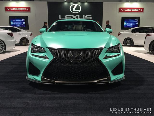 Lexus RC F Instabuilt