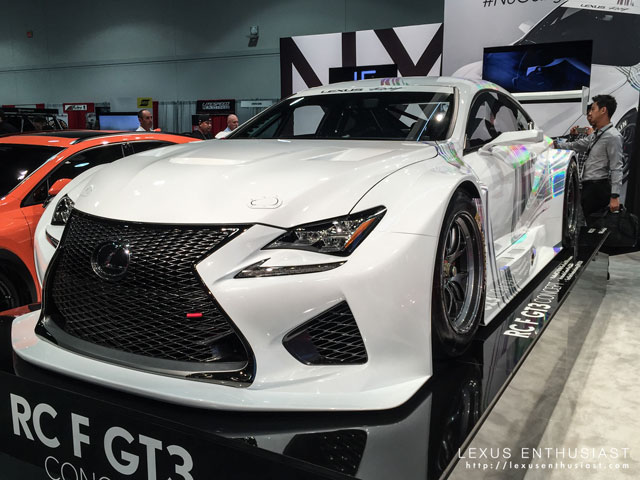 Lexus RC F GT3 Race Car
