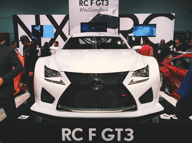 Lexus RC F Hero Image