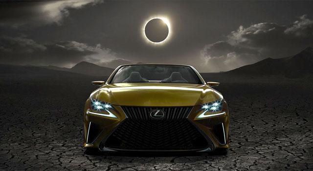 Lexus LF-C2 Concept Front