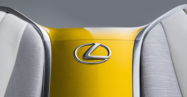 Lexus LF-C2 Inside Badge