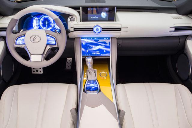 Lexus LF-C2 Interior