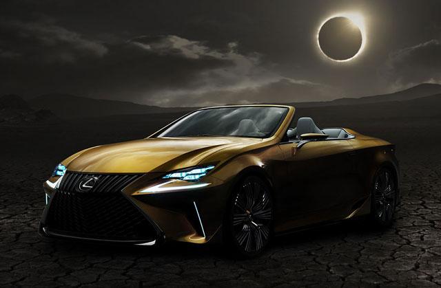 Lexus LF-C2 Concept Live