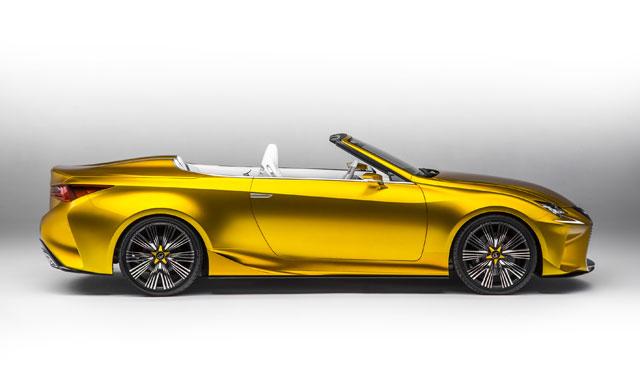 Lexus LF-C2 Side