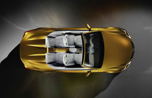 Lexus LF-C2 Top