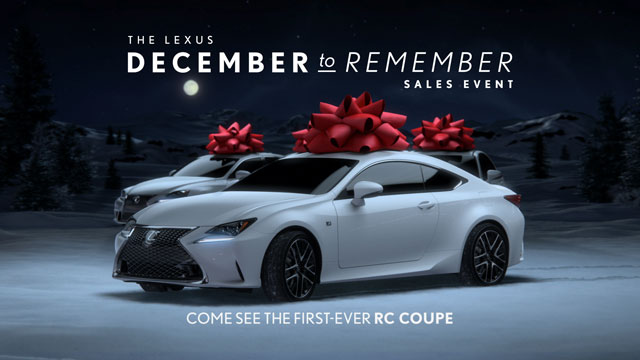 Lexus RC December to Remember