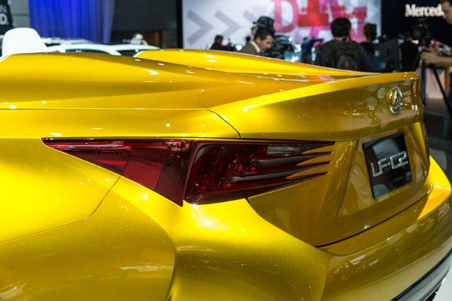 Lexus LF-C2 Deck Lid