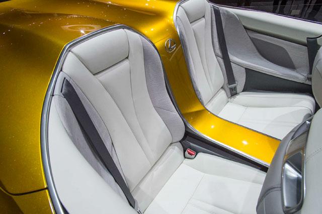 Lexus LF-C2 Interior Rear