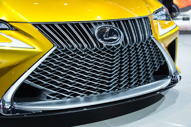 Lexus LF-C2 Mesh Grille