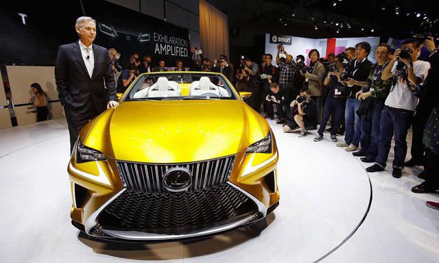 Lexus LF-C2 Jeff Bracken