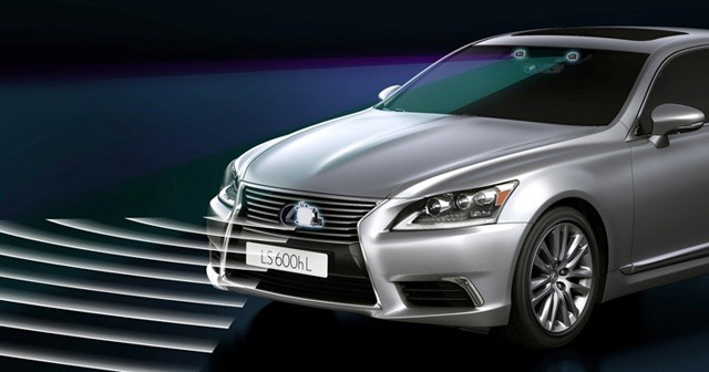 Lexus LS Dynamic Radar