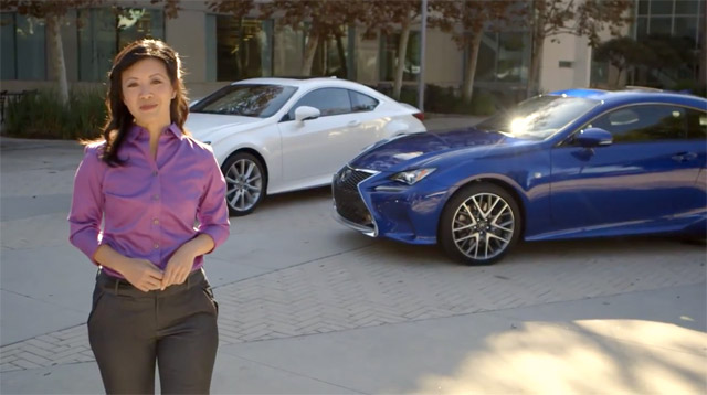 Lexus RC Walkaround