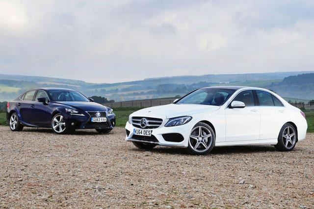 Lexus IS 300h vs. Mercedes Benz C300 Hybrid