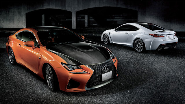 Lexus RC F Japan