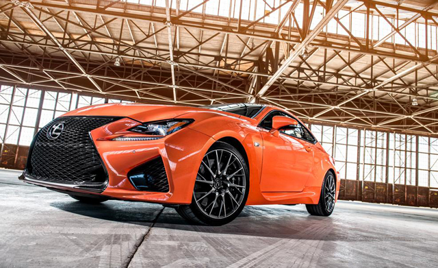 Lexus RC F Car & Driver