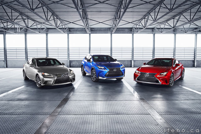 Lexus RC NX IS F SPORT Together Again