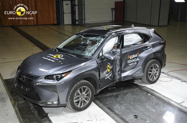 Lexus NX Crash Test Euro