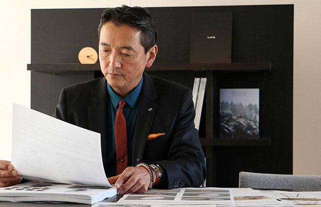 Lexus International President Tokuo Fukuichi
