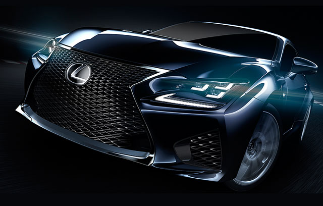 Lexus RC 350 Online Configurator