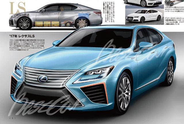Lexus ls next generation for New century honda