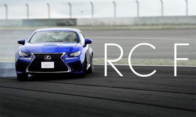 Lexus RC F Commercial Japan