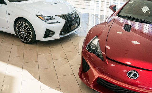 Lexus LFA & RC F Together