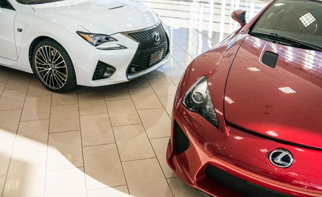 Lexus LFA & RC F Together
