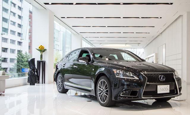 Lexus Japan Showroom