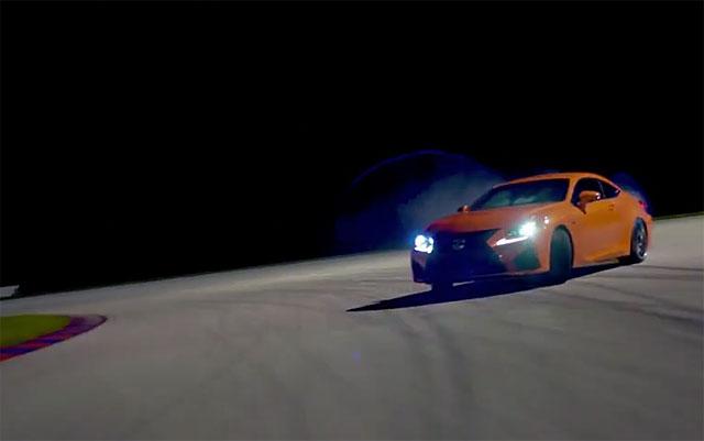 Lexus RC F Translogic