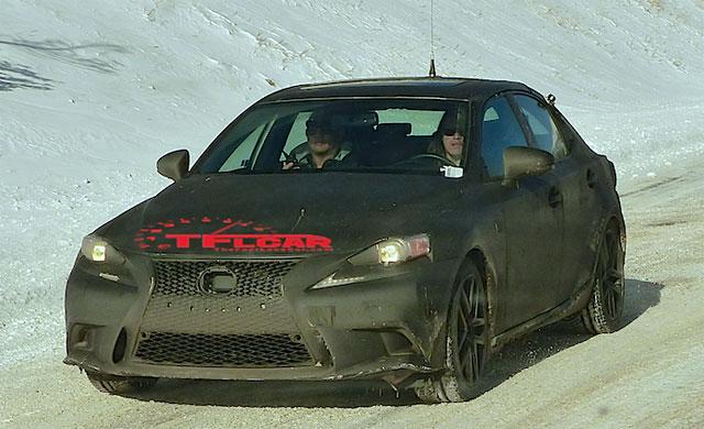 Lexus IS 200t Spy Shots