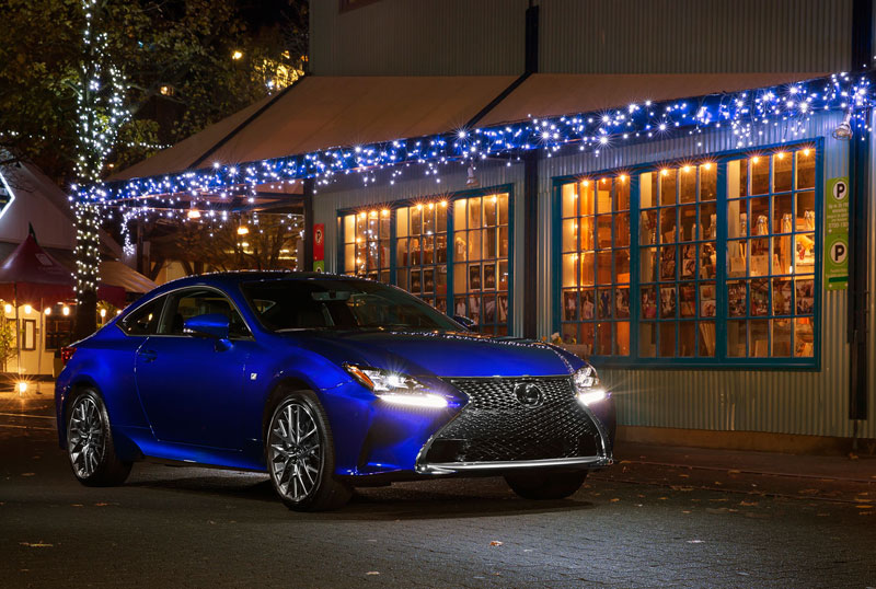 Lexus RC F SPORT Christmas Kevin Uy