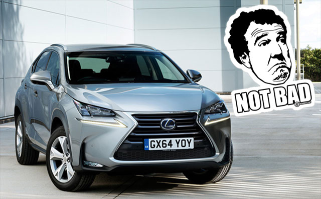 Lexus NX Jeremy Clarkson