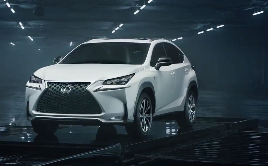 Lexus NX USA Commercials