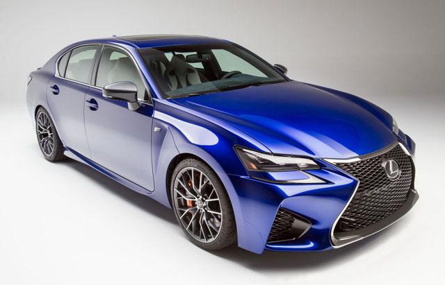 Lexus GS F Road & Track
