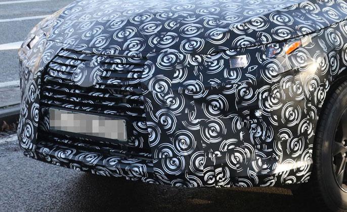 Lexus RX Prototype Front