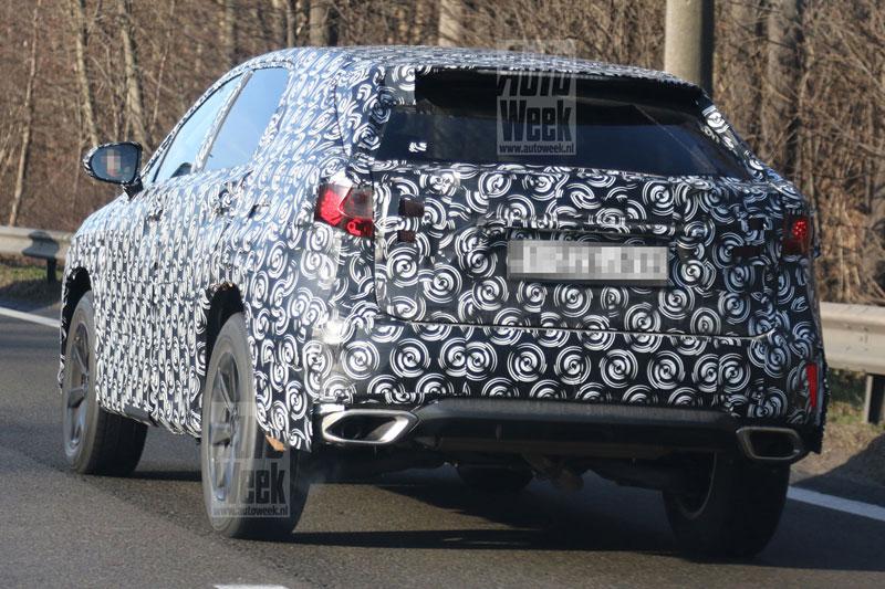Lexus RX Prototype Rear