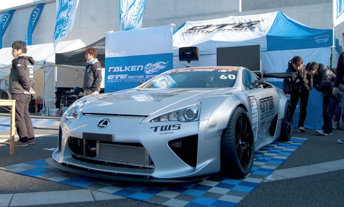 Lexus LFA Drift Build