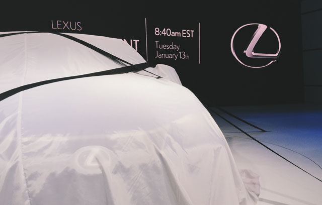 Lexus GS F Reveal