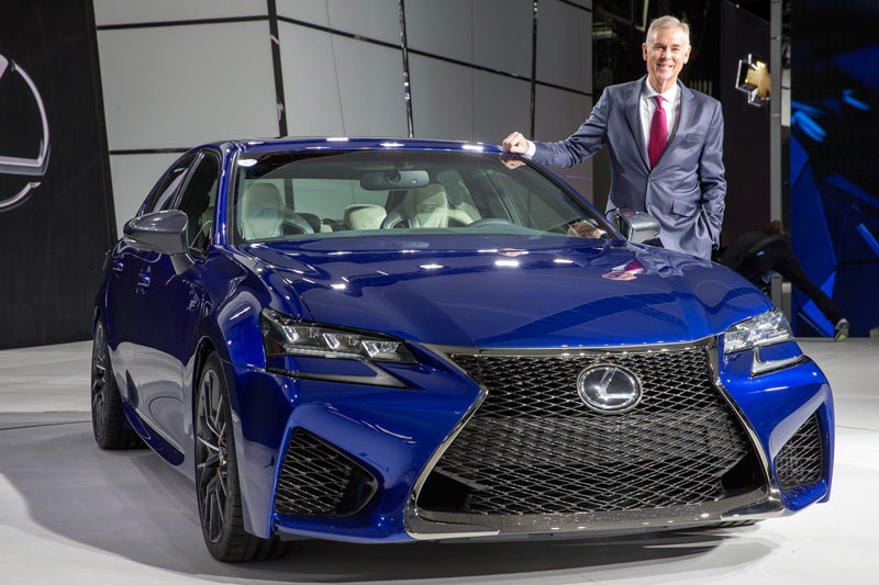 Lexus GM Jeff Bracken