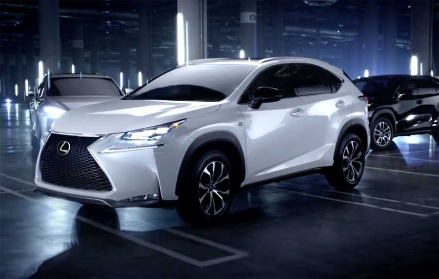 Lexus NX Superbowl Commercial
