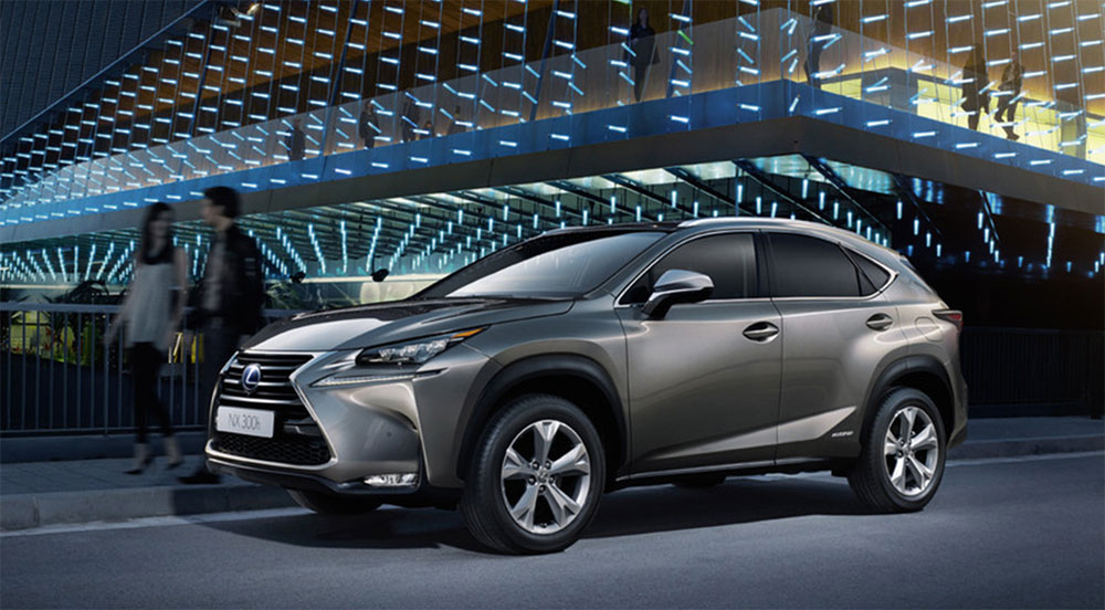 Lexus NX Europe Total Sales