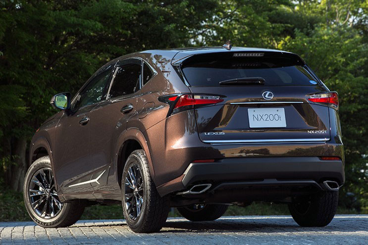 Lexus NX Fire Options