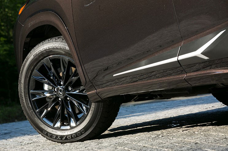 Lexus NX Fire Wheels