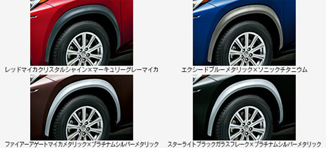 Lexus NX Wheel Well Options