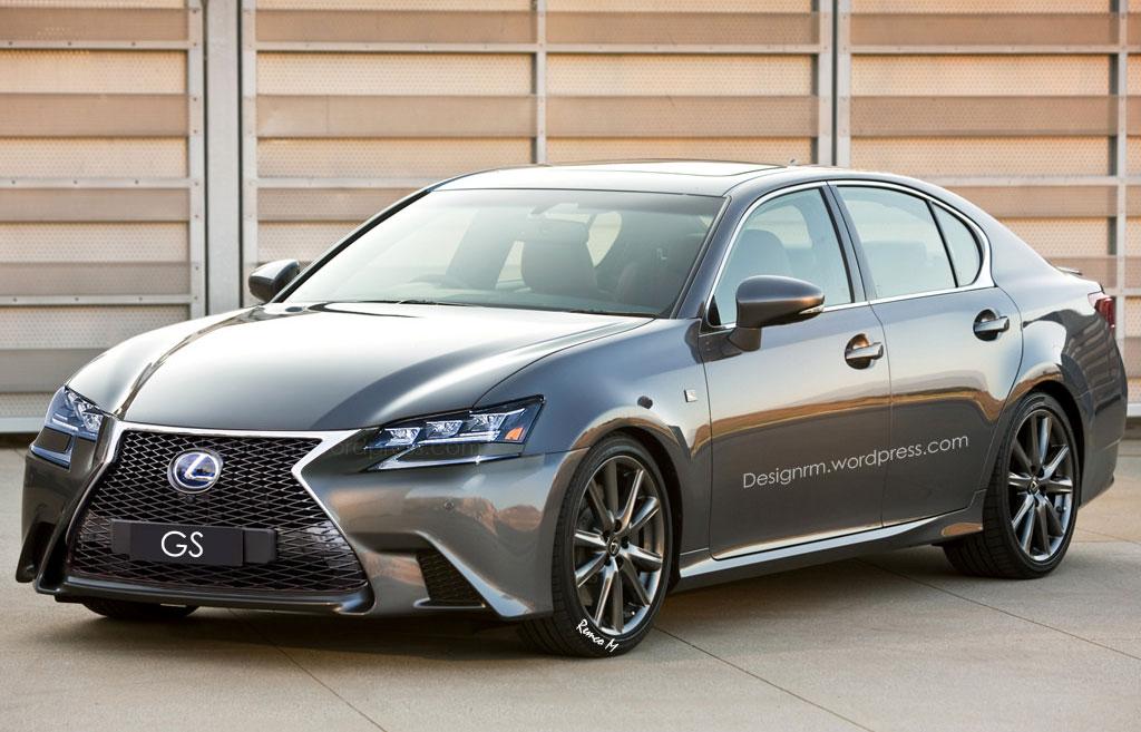 Lexus GS Rendering