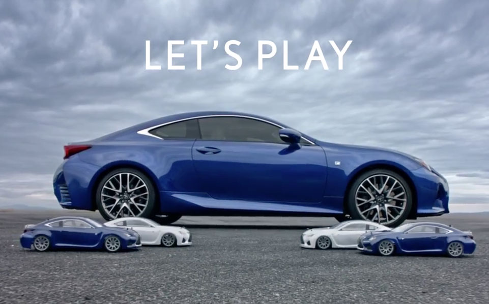 Lexus RC RC Let's Play