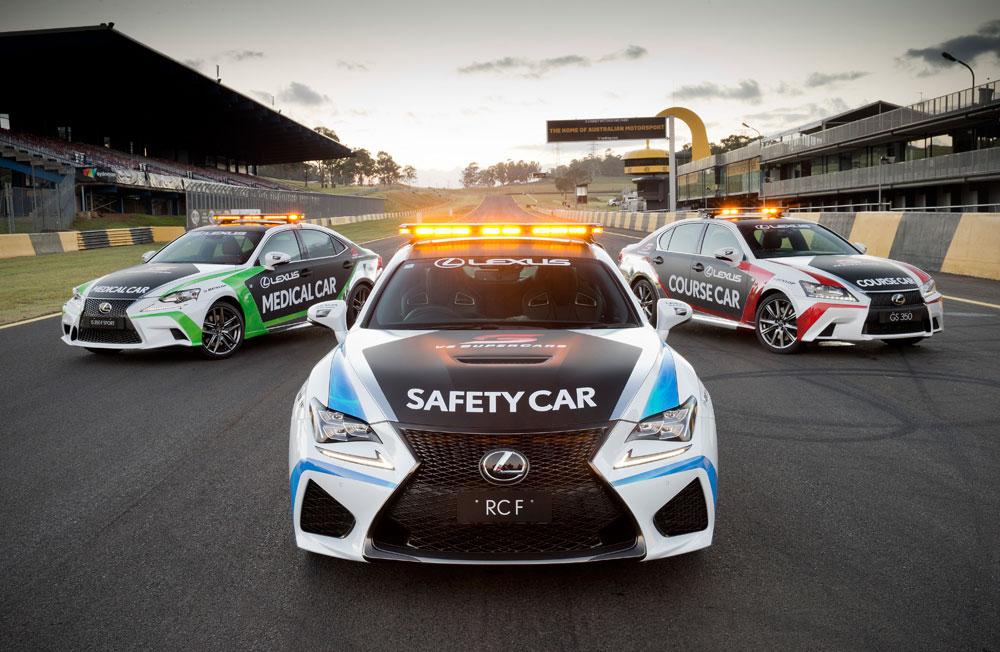 Lexus V8 Supercars Safety Car
