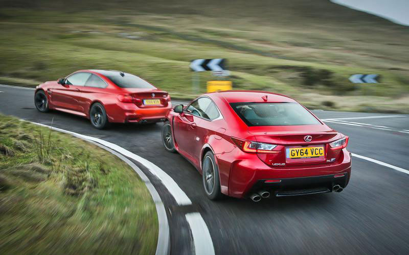 Video: Autocar Compares the Lexus RC F & BMW M4 | Lexus Enthusiast