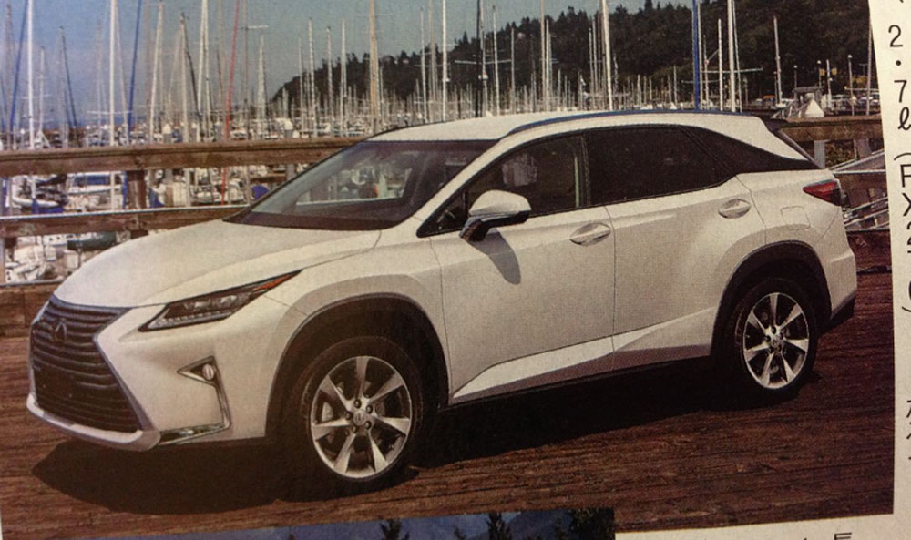 Lexus RX Next-Generation Rendering