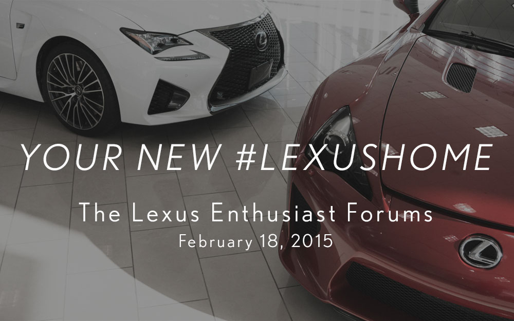 Lexus Home Forums Graphic